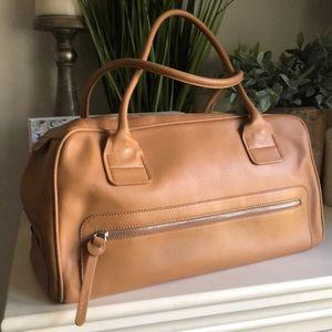🍁Fall Sale🍁 Hogan Pan Am Tan Leather handbag.